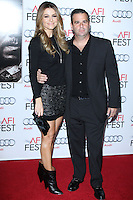 "HOLLYWOOD, CA - NOVEMBER 12: Maria Menounos, Randall Emmett at the AFI FEST 2013 - ""Lone Survivor"" Premiere held at TCL Chinese Theatre on November 12, 2013 in Hollywood, California. (Photo by David Acosta/Celebrity Monitor)"
