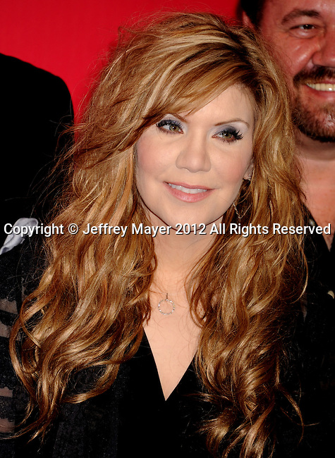 LOS ANGELES, CA - FEBRUARY 10: Alison Krauss arrives at The 2012 MusiCares Person of The Year Gala Honoring Paul McCartney at Los Angeles Convention Center on February 10, 2012 in Los Angeles, California.