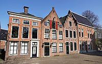 Nederland  Groningen - 2019 . Martinikerkhof. Huizen in het centrum.  Foto Berlinda van Dam / Hollandse Hoogte