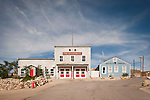 Old fire department and water company buildings, Tonopah, Nev.