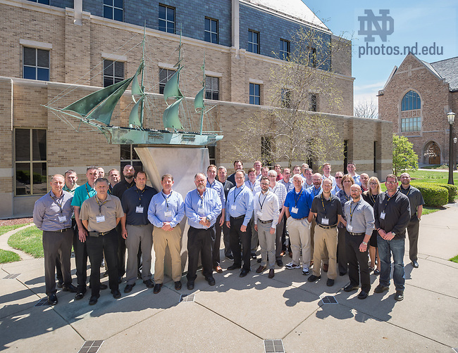 April 18, 2017; EMBA Group (Photo by Matt Cashore/University of Notre Dame)
