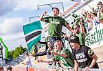 S&ouml;dert&auml;lje 2015-06-21 Fotboll Superettan Assyriska FF - J&ouml;nk&ouml;pings S&ouml;dra IF :  <br /> J&ouml;nk&ouml;ping S&ouml;dras supportrar jublar efter J&ouml;nk&ouml;ping S&ouml;dras Tommy Thelin gjort 2-3 p&aring; straff under matchen mellan Assyriska FF och J&ouml;nk&ouml;pings S&ouml;dra IF <br /> (Foto: Kenta J&ouml;nsson) Nyckelord:  Assyriska AFF S&ouml;dert&auml;lje Fotbollsarena Superettan J&ouml;nk&ouml;ping S&ouml;dra J-S&ouml;dra jubel gl&auml;dje lycka glad happy supporter fans publik supporters