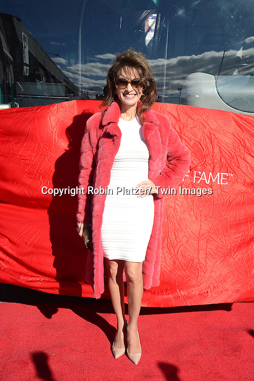 Susan Lucci is Honored by Gray Line's Ride of Fame on November 19, 2013 at Pier 78 in New York City.