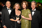 Walker and Marjorie Cain, Delise Ward and Craig Lidji at the Discovery Green Gala at Discovery Green Park downtown Saturday Feb. 23,2008.(Dave Rossman/For the Chronicle)