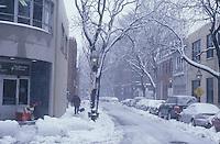 Bay Village snow storm, Boston