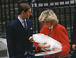 PRINCE HARRY_30 years on<br /> Birth St Mary's Hospital Paddington, London, 17/9/1984.<br /> Prince Harry celebrates his 30th birthday on the 15th of September 2014<br /> Mandatory Photo Credit: &copy;Dias/NEWSPIX INTERNATIONAL<br /> <br /> Mandatory credit photo:NEWSPIX INTERNATIONAL(Failure to credit will incur a surcharge of 100% of reproduction fees)<br /> <br /> **ALL FEES PAYABLE TO: &quot;NEWSPIX INTERNATIONAL&quot;**<br /> <br /> Newspix International, 31 Chinnery Hill, Bishop's Stortford, ENGLAND CM23 3PS<br /> Tel:+441279 324672<br /> Fax: +441279656877<br /> Mobile:  07775681153<br /> e-mail: info@newspixinternational.co.uk