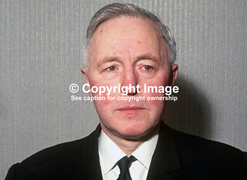 John McInerny aka John McInerney, 555 Falls Road, Belfast, N Ireland, prominent member, N Ireland Civil Rights Association, NICRA, taken January 1969. 196901000069a<br />
