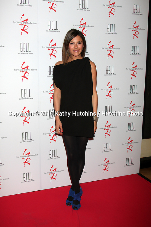 Elizabeth Hendrickson.arrivng at The Young & The Restless 37th Anniversary Dinner.Via Allorro.Beverly Hills, CA.March 9, 2010.©2010 Kathy Hutchins / Hutchins Photo....
