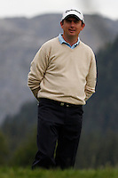 Peter Lawrie (IRL) on the 12th during the 1st day of the Omega European Masters, Crans-Sur-Sierre, Crans Montana, Switzerland..Picture: Golffile/Fran Caffrey..