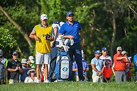 Jason Day (AUS) looks over his tee shot on 12 during 1st round of the 100th PGA Championship at Bellerive Country Cllub, St. Louis, Missouri. 8/9/2018.<br /> Picture: Golffile | Ken Murray<br /> <br /> All photo usage must carry mandatory copyright credit (© Golffile | Ken Murray)