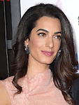Amal Alamuddin Clooney<br />  attends The Warner Bros. Pictures' L.A. Premiere of Our Brand is Crisis held at The TCL Chinese Theatre  in Hollywood, California on October 26,2015                                                                               &copy; 2015 Hollywood Press Agency