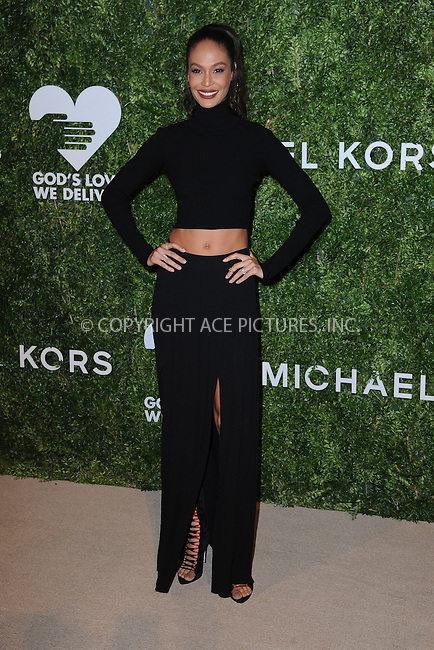 www.acepixs.com<br /> October 17, 2016  New York City<br /> <br /> Joan Smalls attending the God's Love We Deliver Golden Heart Awards on October 17, 2016 in New York City.<br /> <br /> <br /> Credit: Kristin Callahan/ACE Pictures<br /> <br /> <br /> Tel: 646 769 0430<br /> Email: info@acepixs.com