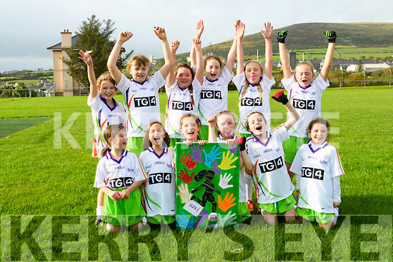 Cumann Peil Ban Daingean Uí Chúis u10 team who played at half time during the Senior Ladies Final Dublin v Mayo in Croke Park over the weekend: Líle Ní Ghairbhí, Ellie Hoare, Robin Ní Chaoinnealain, Hannah Granville, Hayley O'Flaherty, Anna Ní Chonchúir, Róisín Ní Mhurchú, Saoirse Slattery, Róise Ní Ghairbhí, Katie Mae Moran, Jude Ní Riain, Ciara Kennedy.