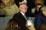 Sir Alex Ferguson during the UEFA Europa League match at Old Trafford. Photo credit should read: Philip Oldham/Sportimage
