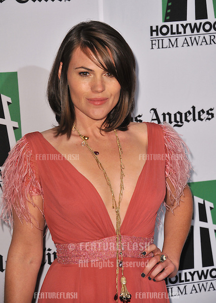 Clea Duvall at the 16th Annual Hollywood Film Awards at the Beverly Hilton Hotel..October 22, 2012  Beverly Hills, CA.Picture: Paul Smith / Featureflash