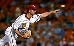 4 August 2007: Washington Nationals pitcher Billy Traber on the mound against the St. Louis Cardinals at RFK Stadium in Washington, DC. The Nationals defeated the Cardinals 12-1 in the second game of their 3-game series...Mandatory Photo Credit: Ed Wolfstein Photo