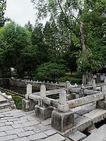 Sondzuk - Bambusbr&uuml;cke bei Kaesong, Nordkorea, Asien, UNESCO-Weltkultrerbe<br /> Sondzuk bamboo bridge near Kaesong, North Korea, Asia, world heritage
