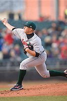 Starting pitcher Bobby Blevins #40 of the Great Lakes Loons in action versus the Dayton Dragons at Fifth Third Field April 22, 2009 in Dayton, Ohio. (Photo by Brian Westerholt / Four Seam Images)