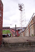 23/06/2000 Blackpool FC Bloomfield Road Ground..Home Kop , top of north west entrance......© Phill Heywood.