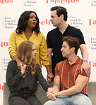 "Audrey Cardwell, Bryonha Marie Parham, Max von Essen and Nick Adams during the rehearsal performance of  ""Falsettos""  at the New Ripley Grier on January 25, 2019 in New York City."
