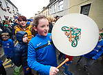 Ruthie Hickey at the St Patrick's Day parade in Killaloe. Photograph by John Kelly.