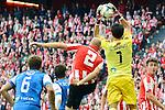 Football macht during La Liga BBVA.<br /> Athletic Club - Real Sociedad<br /> claudio bravo