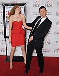 Rachelle Lefevre and Barry Pepper attends the AFI FEST 2010 presented by Audi Centerpiece Gala screening of CASINO JACK held at The Grauman's Chinese Theatre in Hollywood, California on November 08,2010                                                                               © 2010 Hollywood Press Agency
