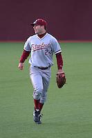 PULLMAN, WA-April 2, 2011:  Stanford outfielder Jake Sewart in a game against Washington State University in Pullman, Washington.  Stanford won the game 22-3.