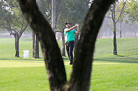 Robert Karlsson (SWE) on the 1st fairway during Round 3 of the Omega Dubai Desert Classic, Emirates Golf Club, Dubai,  United Arab Emirates. 26/01/2019<br /> Picture: Golffile | Thos Caffrey<br /> <br /> <br /> All photo usage must carry mandatory copyright credit (© Golffile | Thos Caffrey)