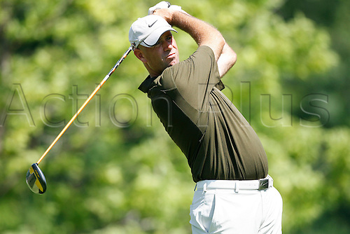 14 August 2009:  Stewart Cink during the second round of the 91st PGA Championship at Hazeltine National Golf Club in Chaska, Minnesota. (Photo:Charles Baus/Actionplus)