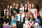 Karl Lawless with all the girls at his  21st Star and Crescent...Photo NEWSFILE/Jenny Matthews.(Photo credit should read Jenny Matthews/NEWSFILE)....This Picture has been sent you under the condtions enclosed by:.Newsfile Ltd..The Studio,.Millmount Abbey,.Drogheda,.Co Meath..Ireland..Tel: +353(0)41-9871240.Fax: +353(0)41-9871260.GSM: +353(0)86-2500958.email: pictures@newsfile.ie.www.newsfile.ie.FTP: 193.120.102.198.