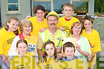 Pat Lehane Lissivigeen Killarney, who is heading to Africa on the Niall Mellon Township trust challenge in November, with his fundraising committee front row l-r: Sinead, Orla Lehane, Ellen Murphy. Back row: Niamh Clifford, Lorna Murphy, Pat Lehane, Fergal Clifford, Patricia Lehane and Gary Vaughan      Copyright Kerry's Eye 2008