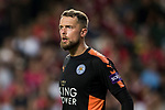 Leicester City FC goalkeeper Ben Hamer reacts during the Premier League Asia Trophy match between Leicester City FC and West Bromwich Albion at Hong Kong Stadium on 19 July 2017, in Hong Kong, China. Photo by Yu Chun Christopher Wong / Power Sport Images
