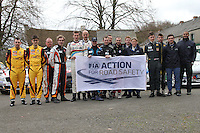 Circuit of Ireland Rally Holding Area 170414