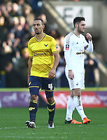 Kemar Roofe of Oxford United   during the Emirates FA Cup 3rd Round between Oxford United v Swansea     played at Kassam Stadium  on 10th January 2016 in Oxford