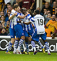 26/08/2010   Copyright  Pic : James Stewart.sct_jsp004_mwell_v_odense  .:: PETER UTAKA CELEBRATES AFTER HE SCORES THE FIRST  :: .James Stewart Photography 19 Carronlea Drive, Falkirk. FK2 8DN      Vat Reg No. 607 6932 25.Telephone      : +44 (0)1324 570291 .Mobile              : +44 (0)7721 416997.E-mail  :  jim@jspa.co.uk.If you require further information then contact Jim Stewart on any of the numbers above.........