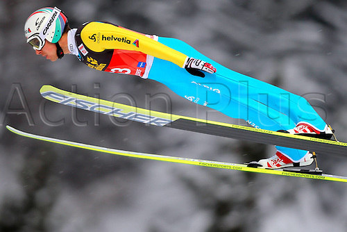 28.12.2010 Nordic Ski Jumping FIS World Cup Vierschanzen Tour Training and Qualification in Oberstdorf Germany. Picture shows Simon Ammann SUI