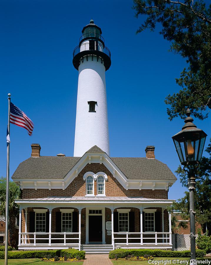 St. Simons Island, GA<br /> St Simons Island lighthouse