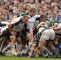 Leicester, ENGLAND.  Exiles , Richard Skuse, David Paice and Neal Hatley, Guinness Premiership Semi-Final. Leicester Tigers vs London Irish, at Welford Road, 05.2006. © Peter Spurrier/Intersport-images.com,  / Mobile +44 [0] 7973 819 551 / email images@intersport-images.com.   [Mandatory Credit, Peter Spurier/ Intersport Images].14.05.2006