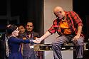 English National Opera presents LADY MACBETH OF MTSENSK, at the London Coliseum. Directed by Dmitri Tcherniakov. Picture shows: Patricia Racette (Katerina Lvovna Ismailova), John Daszak (Sergei).