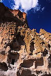 Bandelier National Monument cliffs