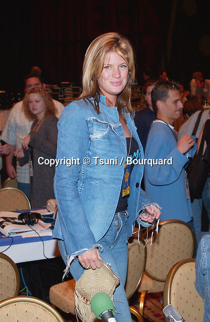 Rachel Hunter at the Radio MegaBlast, a two-day event packed with live radio broadcasts, receptions, concerts, awards ceremonies and more at the Aladdin Resort and Casino,  Thursday, Oct. 25, 2001.          -            HunterRachel20.jpg