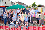 BIRTHDAY BOY: Mikey Callaghan, Kevin Barry Villas, Tralee (seated 3rd left) enjoying a great time celebrating his 75th birthday with family and friends at Manor Lawn, Manor Village, Tralee on Saturday.