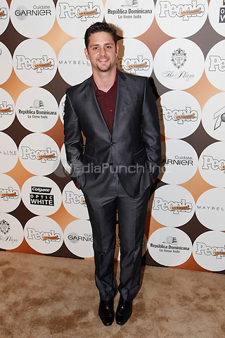 Christopher Uckermann at People En Espanol's '50 Most Beautiful' Event at The Plaza on May 15, 2012 in New York City. ©Diego Corredor/MediaPunch Inc.