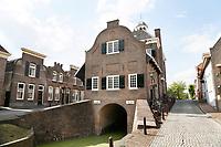 Nederland  Nieuwpoort 2017.  De achterzijde van het oude Stadhuis van Nieuwpoort, Zuid-Holland. In het Stadhuis is tegenwoordig een museum gevestigd.   Foto Berlinda van Dam / Hollandse Hoogte