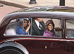 """PRINCESSES BEATRICE AND EUGENIE AND THE DUKE OF YORK.are relegated to a car for the trip from Westminster Hall to Buckingham Palace, on the occasion of the Queen's Diamond Jubilee_London_05/06/2012.Mandatory Credit Photo: ©SB/NEWSPIX INTERNATIONAL..**ALL FEES PAYABLE TO: """"NEWSPIX INTERNATIONAL""""**..IMMEDIATE CONFIRMATION OF USAGE REQUIRED:.Newspix International, 31 Chinnery Hill, Bishop's Stortford, ENGLAND CM23 3PS.Tel:+441279 324672  ; Fax: +441279656877.Mobile:  07775681153.e-mail: info@newspixinternational.co.uk"""