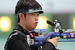 Atsushi Shimada (JPN), <br /> AUGUST 20, 2018 - Shooting - Rifle : <br /> Men's 10m Air Rifle <br /> at Jakabaring Sport Center Shooting Range <br /> during the 2018 Jakarta Palembang Asian Games <br /> in Palembang, Indonesia. <br /> (Photo by Yohei Osada/AFLO SPORT)