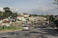 BELO HORIZONTE,MG, 18.11.2015 – CIDADE – Rio Arrudas, na avenida Tereza Cristina, altura do bairro Betânia,  que teve um alto volume de água na manha desta quarta-feira, em Belo Horizonte, 18. (Foto: Doug Patricio/Brazil Photo Press)