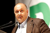 NAPOLI 15/06/2012 CONFERENZA NAZIONALE PER IL LAVORO DEL PARTITO DEMOCRATICO.NELLA FOTO GIOVANNI CENTRELLA .FOTO CIRO DE LUCA.
