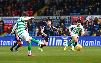 1st December 2019; Global Energy Stadium, Dingwall, Highland, Scotland; Scottish Premiership Football, Ross County versus Celtic; Ryan Christie of Celtic hits the penalty - Editorial Use